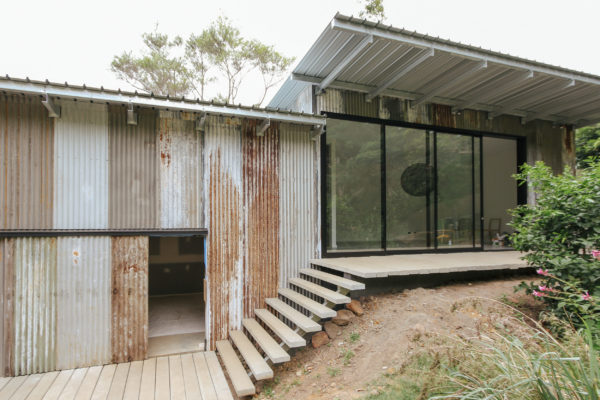 Thirroul Artists Studio - Recycled Cladding